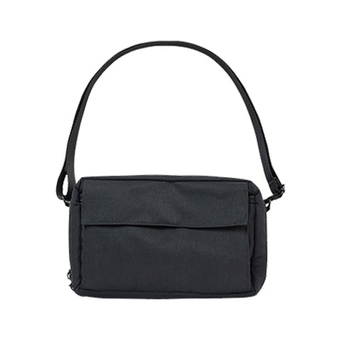 ITHINKSO Square Wallet Bag Black