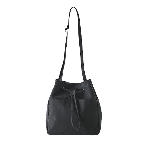 Ithinkso Square Bucket Bag Black
