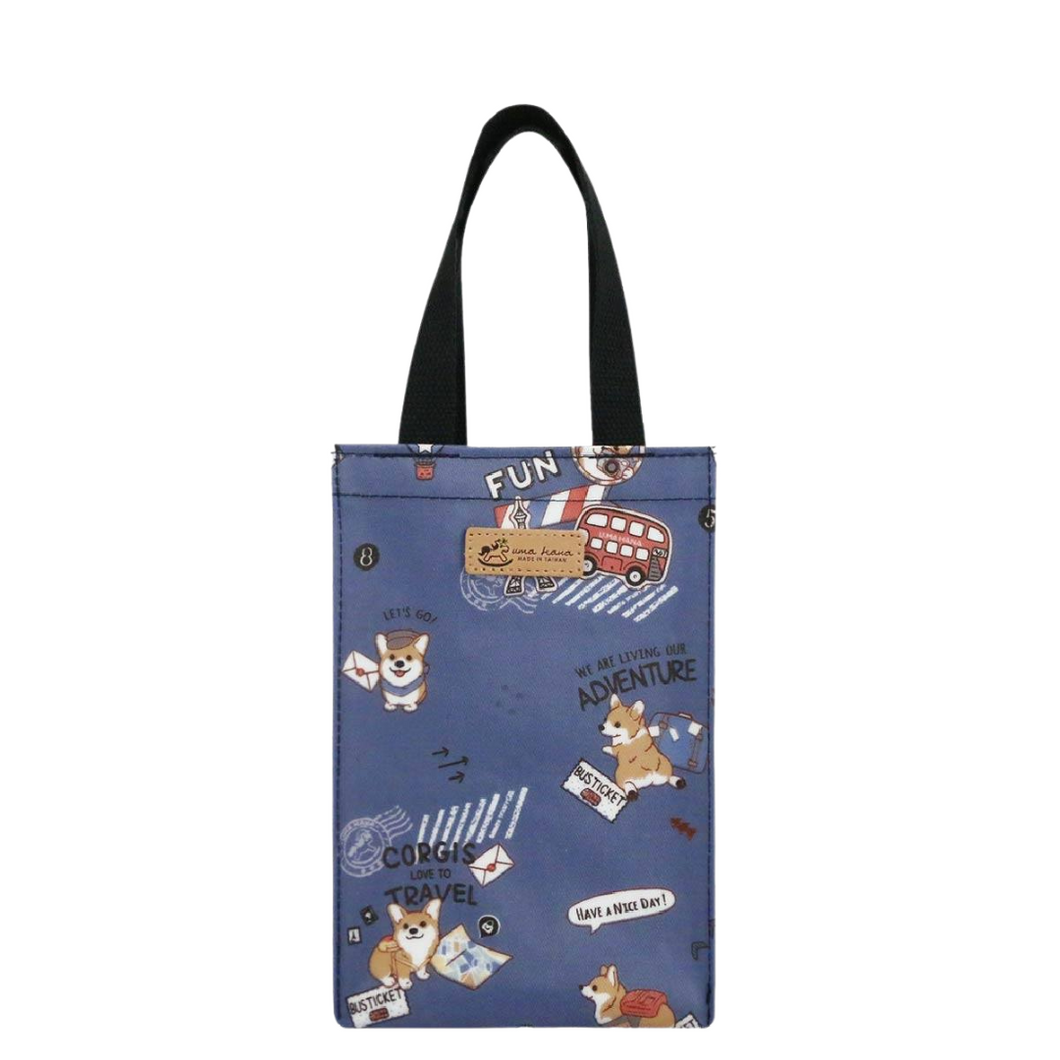 Casual Handbag S Travel Corgi Navy