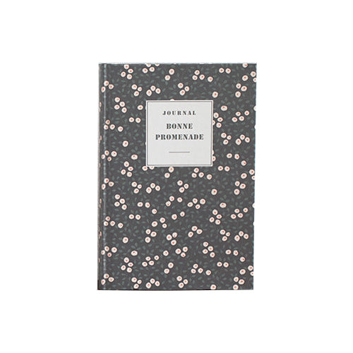 Livework Hard Cover Line Notebook (Large) Night Garden