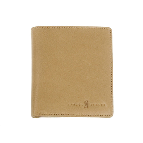 Samuel Ashley Tyler Slim Bifold Wallet Nutmeg