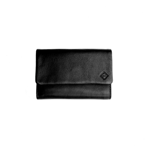 Samuel Ashley Abby Trifold Wallet Black