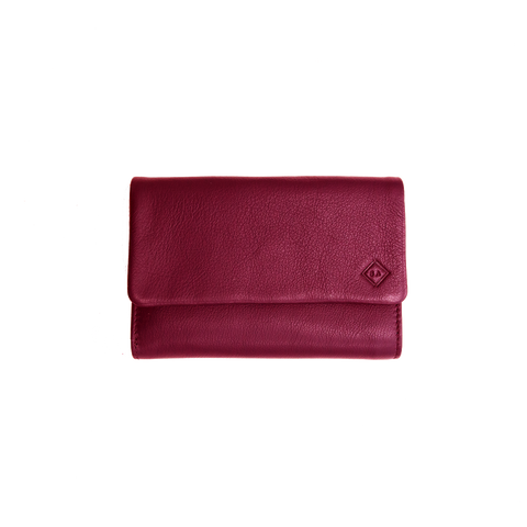 Samuel Ashley Abby Trifold Wallet Lipstick