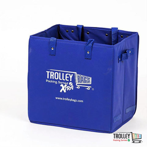 Reusable Grocery Shopping Trolley Bags Xtra Blue