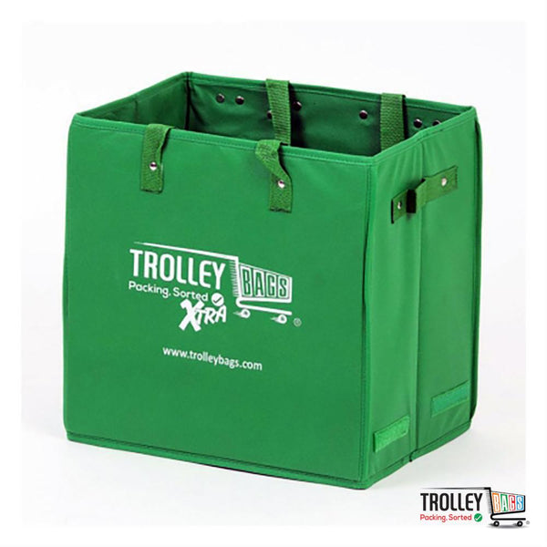 Reusable Grocery Shopping Trolley Bags Xtra Green