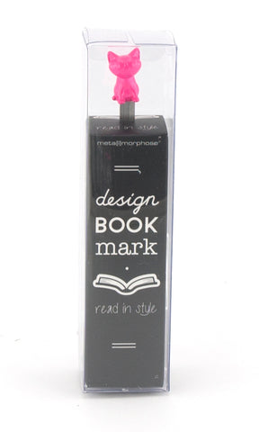 Metalmorphose Bookmark Cat Pink