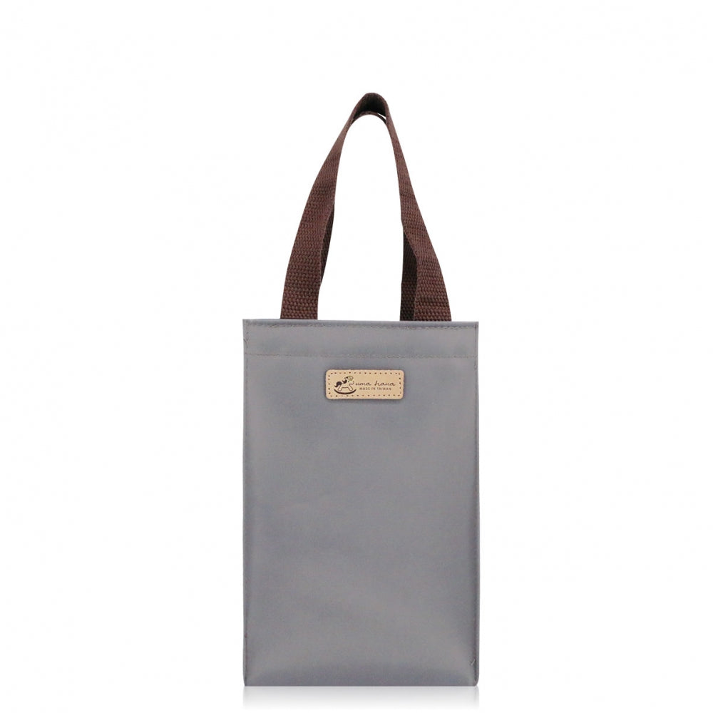 Uma Hana Premium Monochrome Small Casual Handbag (Water Bottle Bag) Grey