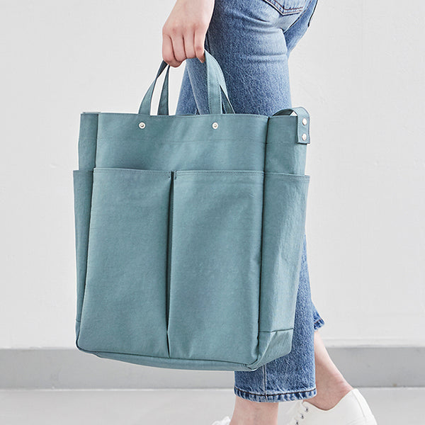 Ithinkso Hen Day Shopper Steel Blue