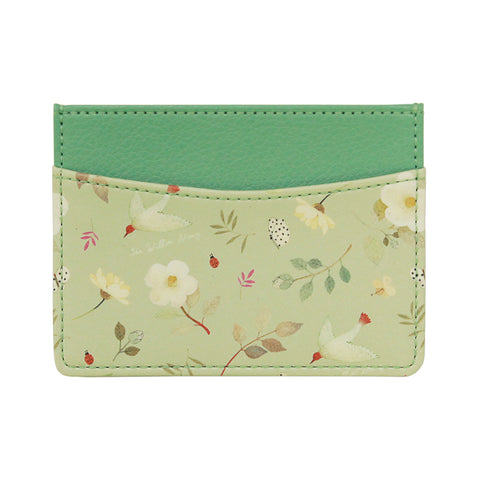 Indigo Willow Ver.2 Card Pocket Mint Flower