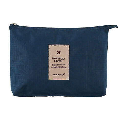 Monopoly New Mesh Pouch Large Navy