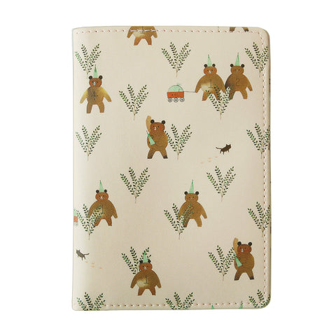 Indigo Willow Ver.4 Passport Case Pink Bear