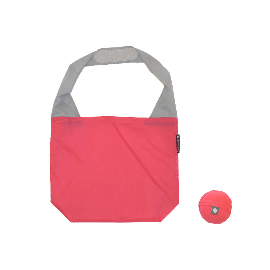 Flip and Tumble 24-7 Shopping Bag Coral Pink