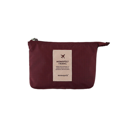 Monopoly New Mesh Pouch Small Wine