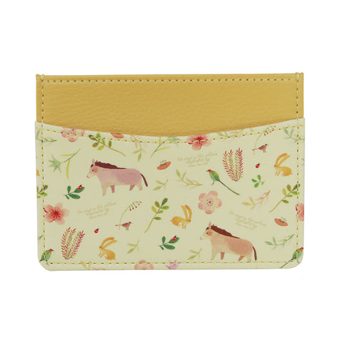 Indigo Willow Ver.2 Card Pocket Yellow Horse