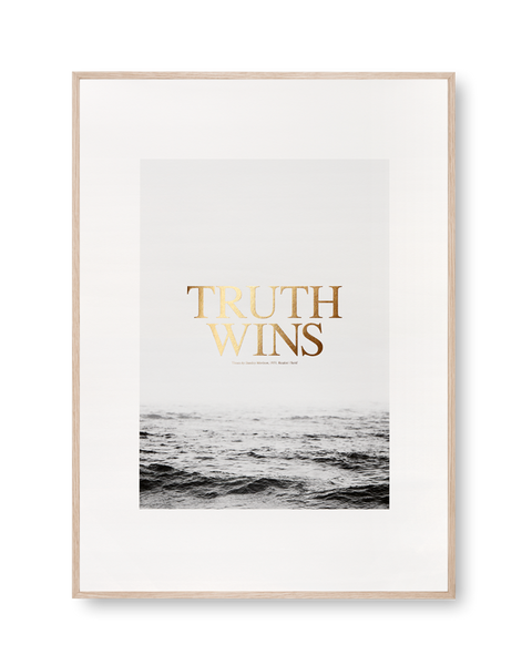 Truth Wins poster