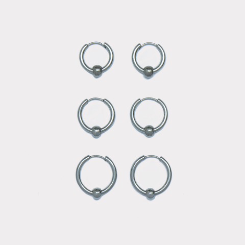 Pila Hoop Earrings