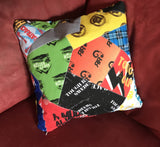 Custom OCR Throw Cushion Cover.