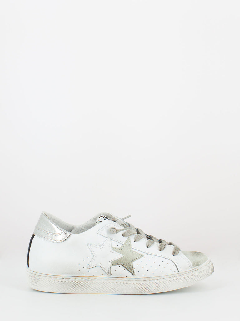 2STAR - Sneakers bianco / argento