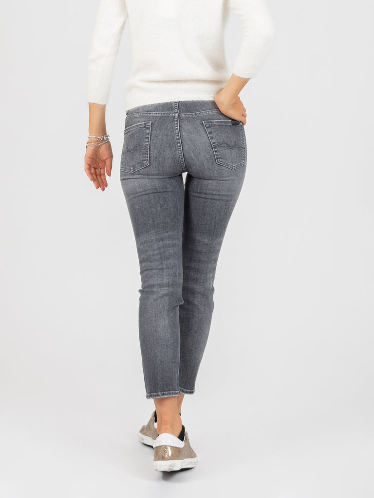 7 FOR ALL MANKIND - Roxanne ankle the slim grigi