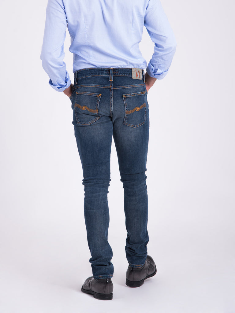 NUDIE JEANS - Tight terry double indigo l34