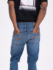 NUDIE JEANS - Tilted tor denim medio