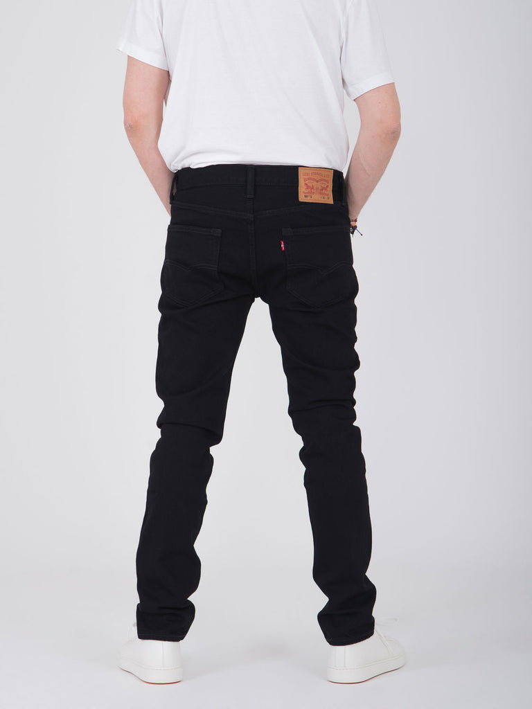 LEVI'S - 501 skinny denim nero