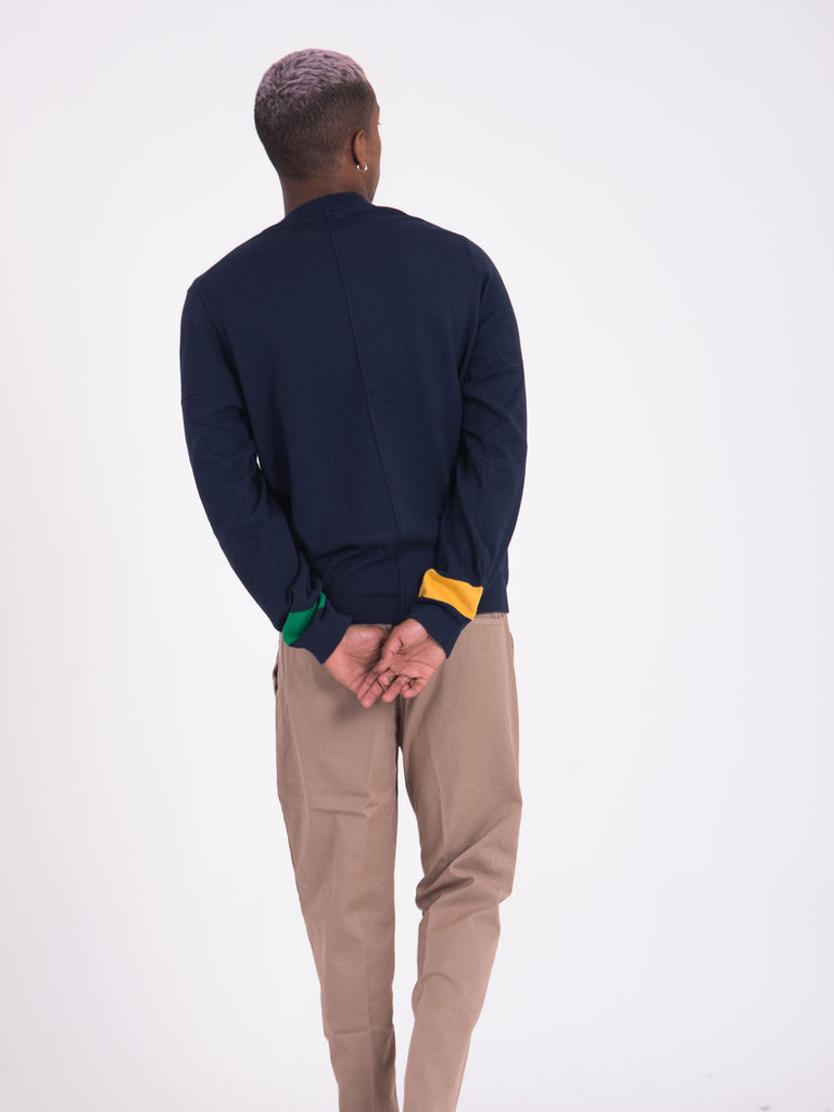 PAUL SMITH - Maglia girocollo navy