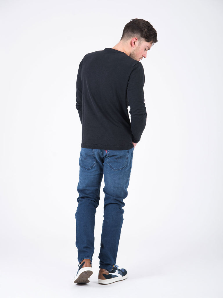 LEVI'S - 512 slim taper denim scuro