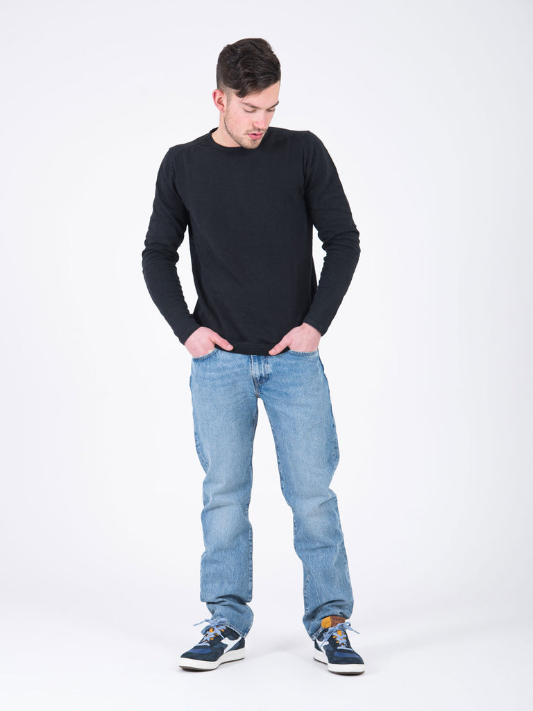 LEVI'S - 502 regular taper denim chiaro