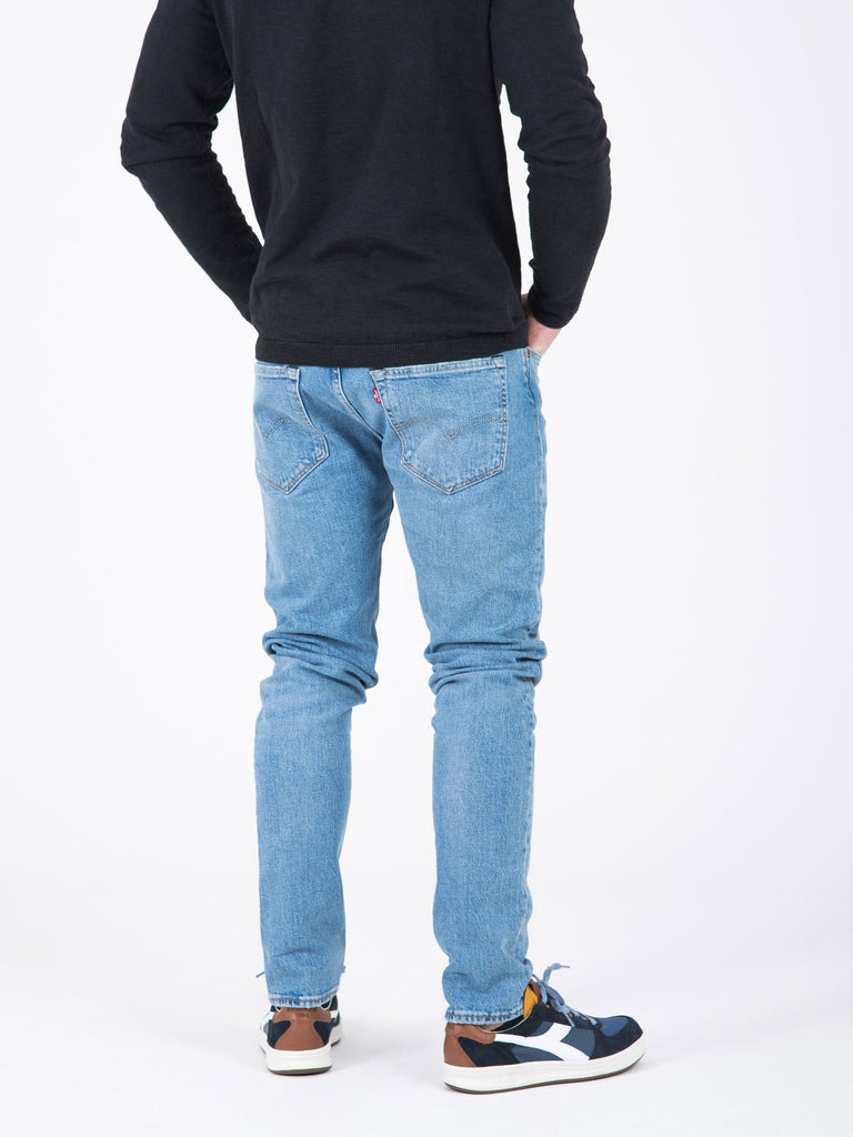 501 west skinny denim chiaro