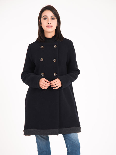 Cappotto mustang blu