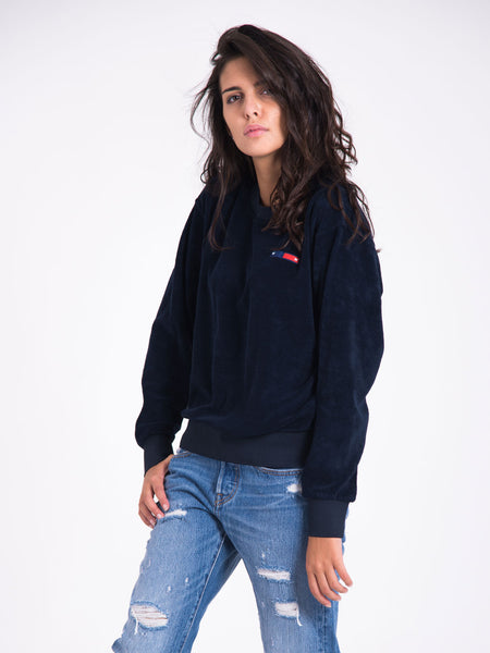 WOOD WOOD - Felpa tara navy scuro