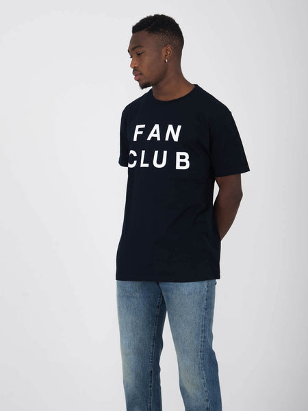 T-shirt fan club blu