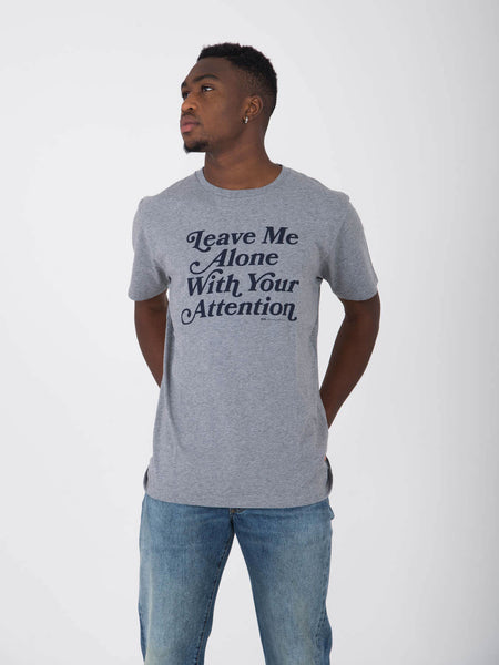 T-shirt alone grigia