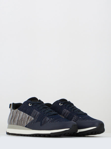 Sneakers rappid knitted navy