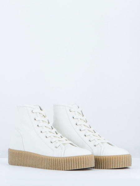 MM6 MAISON MARGIELA - SNEAKERS CREEPER BIANCHE