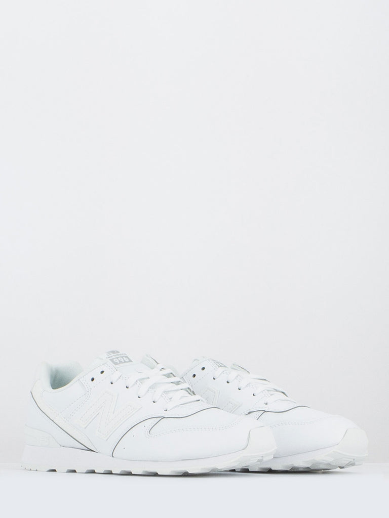 NEW BALANCE - 996 lifestyle bianche in pelle