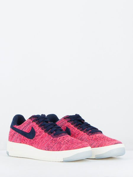 AIR FORCE 1 FLYKNIT LOW FUXIA/BLU