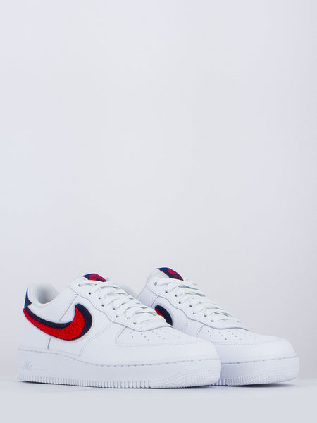 Air force 1 '07 bianco / rosso / blu