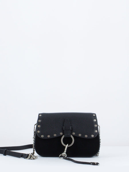 REBECCA MINKOFF - BORSETTA KEITH SMALL SADDLE NERA