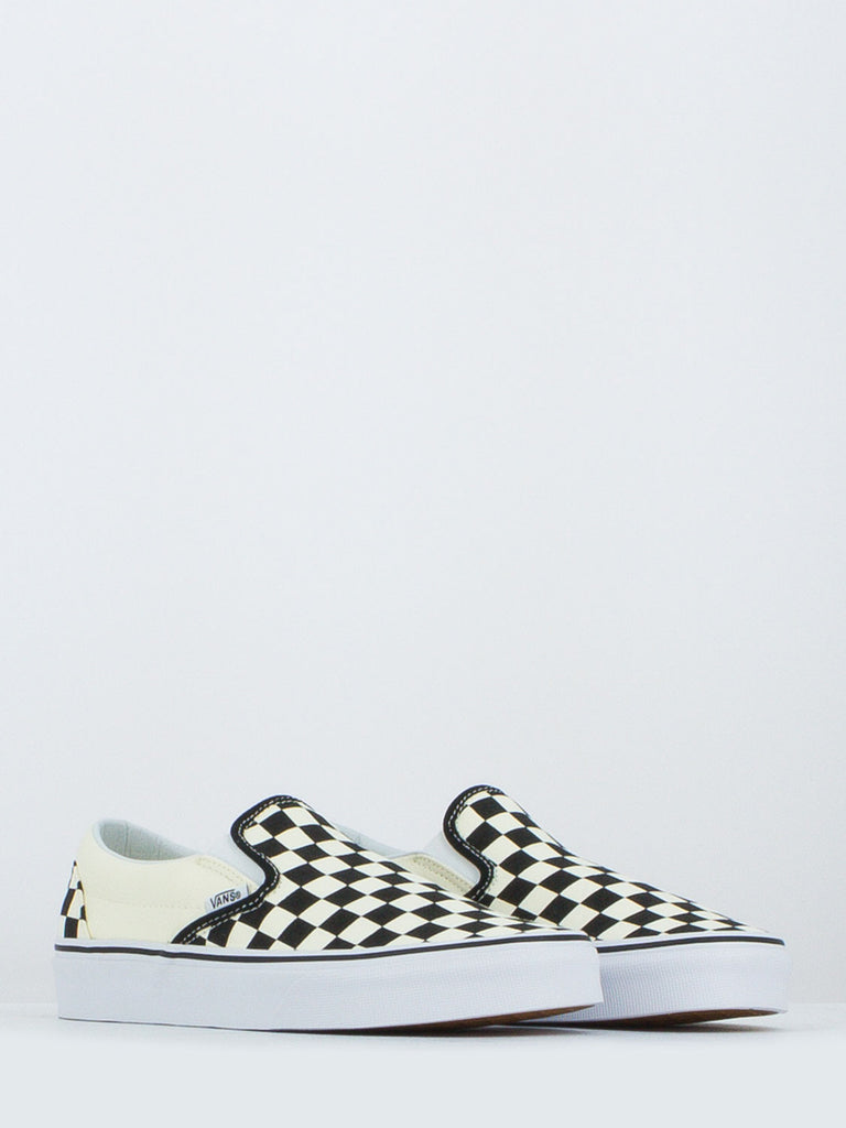 VANS - Classic slip-on checkerboard avorio/nero