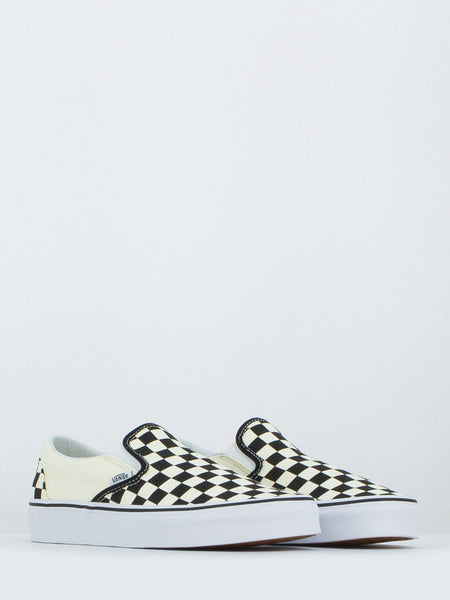 Classic slip-on checkerboard avorio/nero