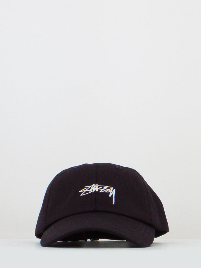STUSSY - Berretto suiting low pro wine