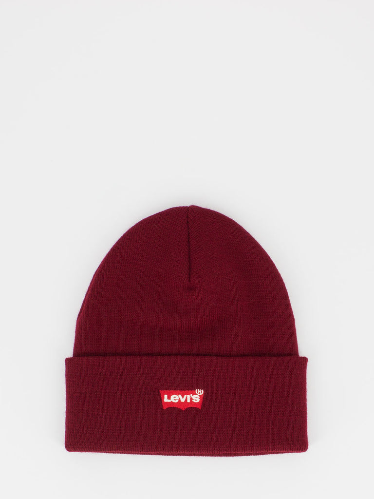 LEVI'S - Beanie mini logo bordeaux