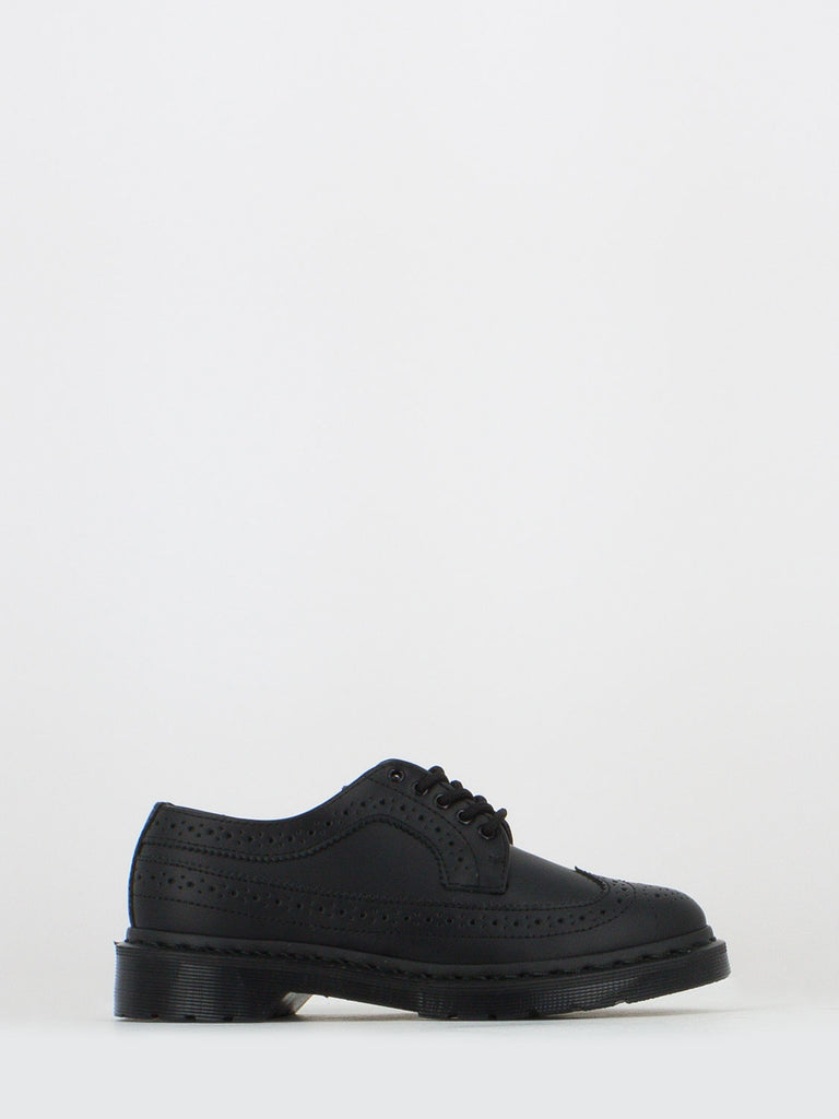 DR. MARTENS - Derby 3989 core smooth nere
