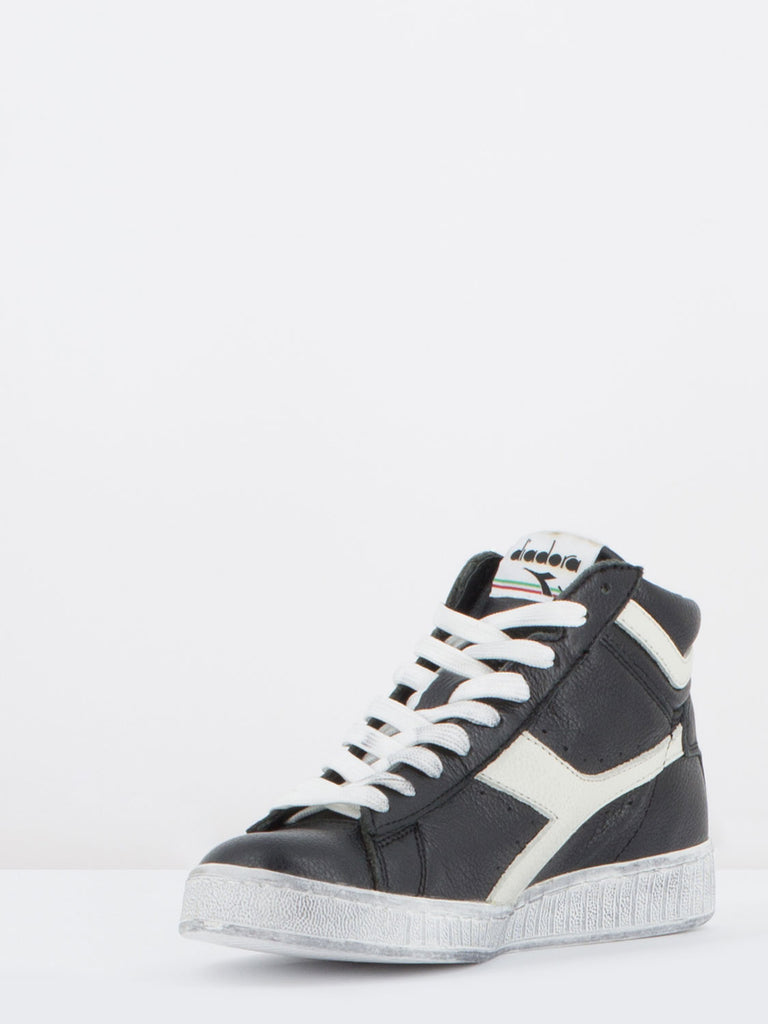 DIADORA - Game high waxed nero/bianco