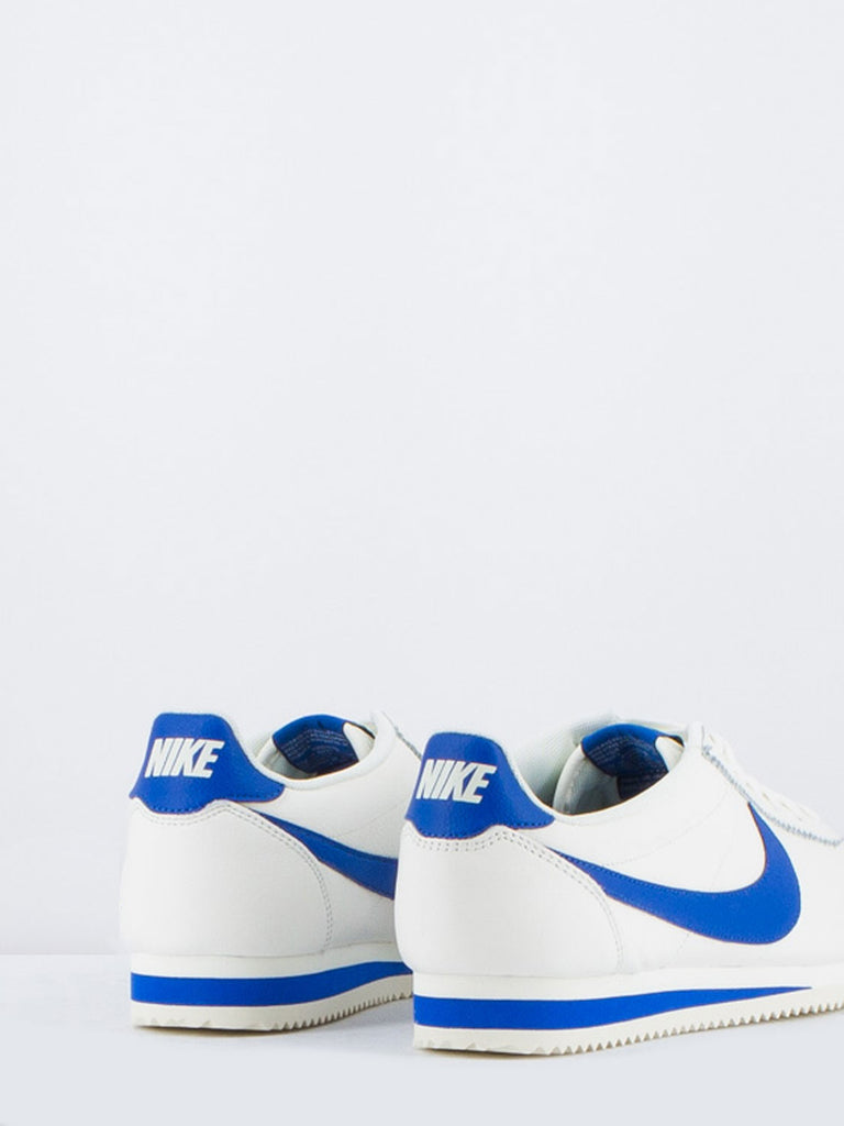 NIKE - Classic cortez leather se bianco/blu