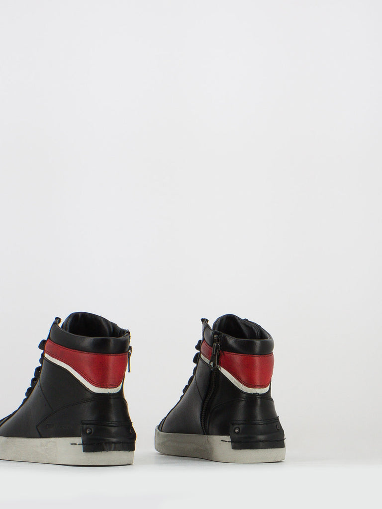 CRIME - Sneakers lucky nero / rosso / bianco