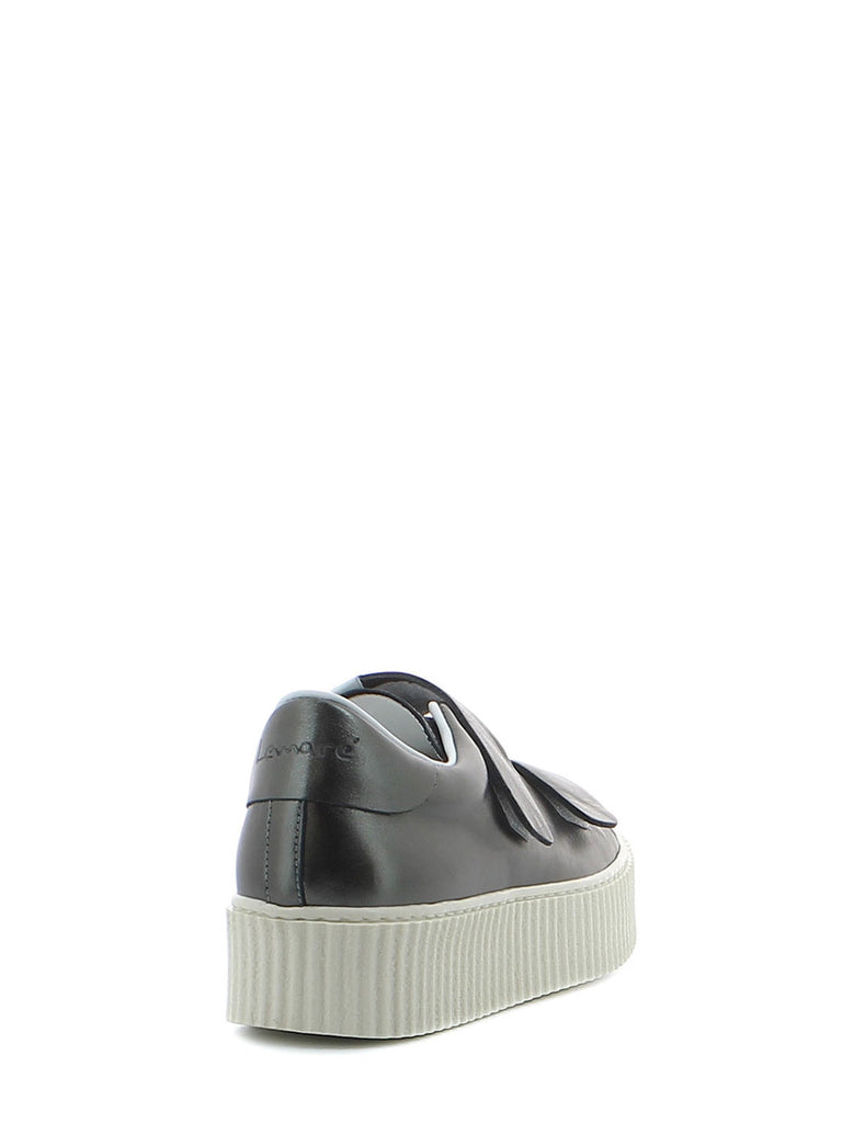LEMARE' – SNEAKERS IN PELLE ANTRACITE