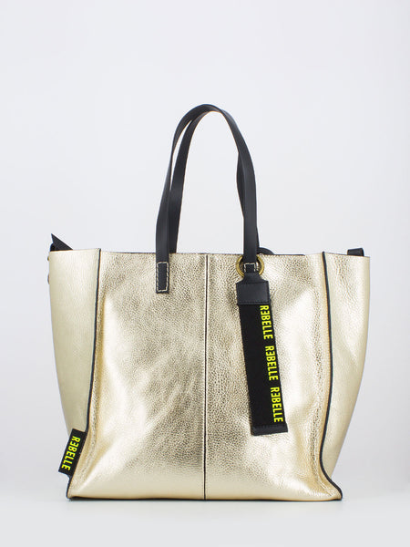 Shopping bag Gioia medium oro